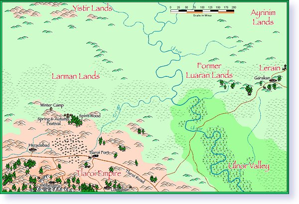 Larman tribal lands